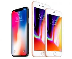 iPhone X, iPhone 8 и iPhone 8 Plus: официальные цены на смартфоны в России