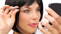 Как правильно выщипать брови