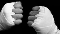 Как наматывать боксерские бинты