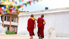 Как сделать рясу буддистского монаха