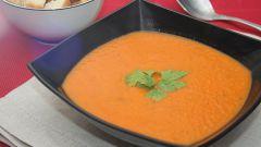 Как готовить томатный суп