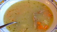 Как приготовить куриный суп-лапшу
