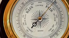 How to measure height of building by barometer