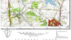 Как описать карту местности