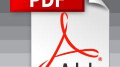 Как установить формат pdf