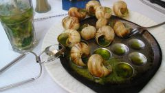 How to cook grape snail