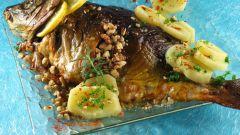 Как приготовить рыбу сазан