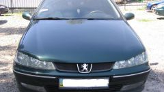 How to remove the bumper in the Peugeot 406