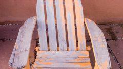 Как обновить старое кресло