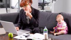 Как выйти на работу после отпуска по уходу за ребенком