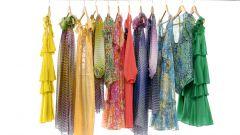 Как покрасить платье