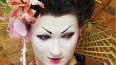 Как сделать прическу гейши