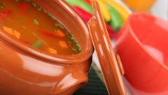 Как приготовить суп в горшочках