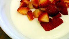 Как приготовить натуральный йогурт