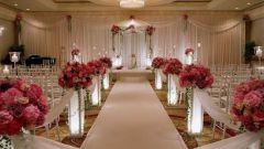Как украсить помещение для свадьбы
