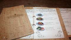 How to make restaurant menu