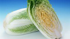 Как резать пекинскую капусту