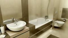 Как сделать полы в ванной комнате