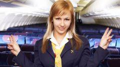 Как поступить на стюардессу