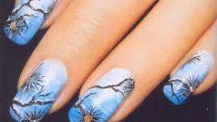 Как сделать роспись ногтей