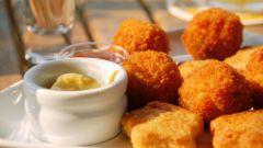 Как приготовить сырные наггетсы