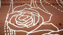Как покрасить чаем ткань