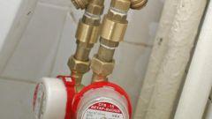 Как установить счетчик расхода воды