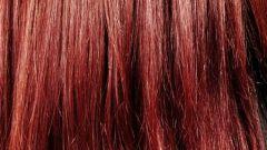 Как перекрасить красные волосы