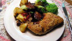 Как приготовить куриное филе в сливках