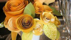 Как складывать цветы из бумаги