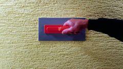 Как нанести текстурную штукатурку