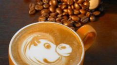 How to make pattern on cappuccino