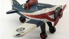 Как сделать деревянный самолетик