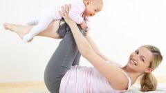 Как утянуть живот после родов