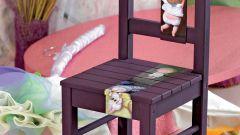 Как декорировать стул