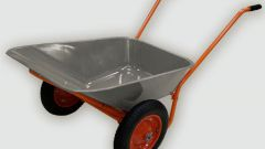 How to make a wheelbarrow
