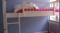 Как собрать двухъярусную кровать