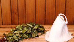 Как замочить веник в бане