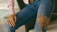 Как сделать красивые джинсы