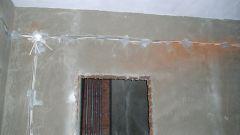 Как проложить кабель в стене
