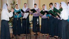 Как попасть в церковный хор