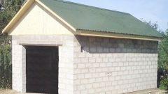 Как построить гараж из блока