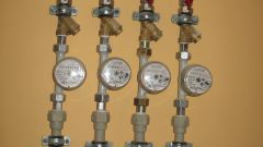 How to put in the apartment water meters