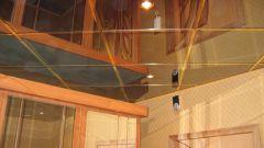 Как сделать зеркальный потолок