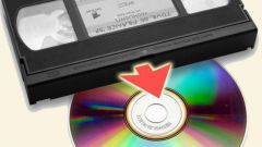 How to rewrite VHS on DVD