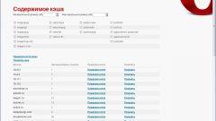 Как очистить кеш в браузере Opera