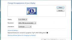 Как изменить разрешение экрана на ноутбуке