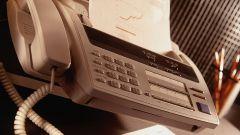 Как отправлять и получать факс