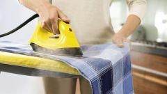 Как убрать блеск с ткани