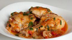 Как приготовить курицу с помидорами